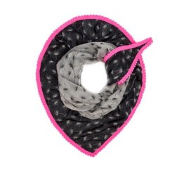 POM Amsterdam dance4life shawl - neon roze