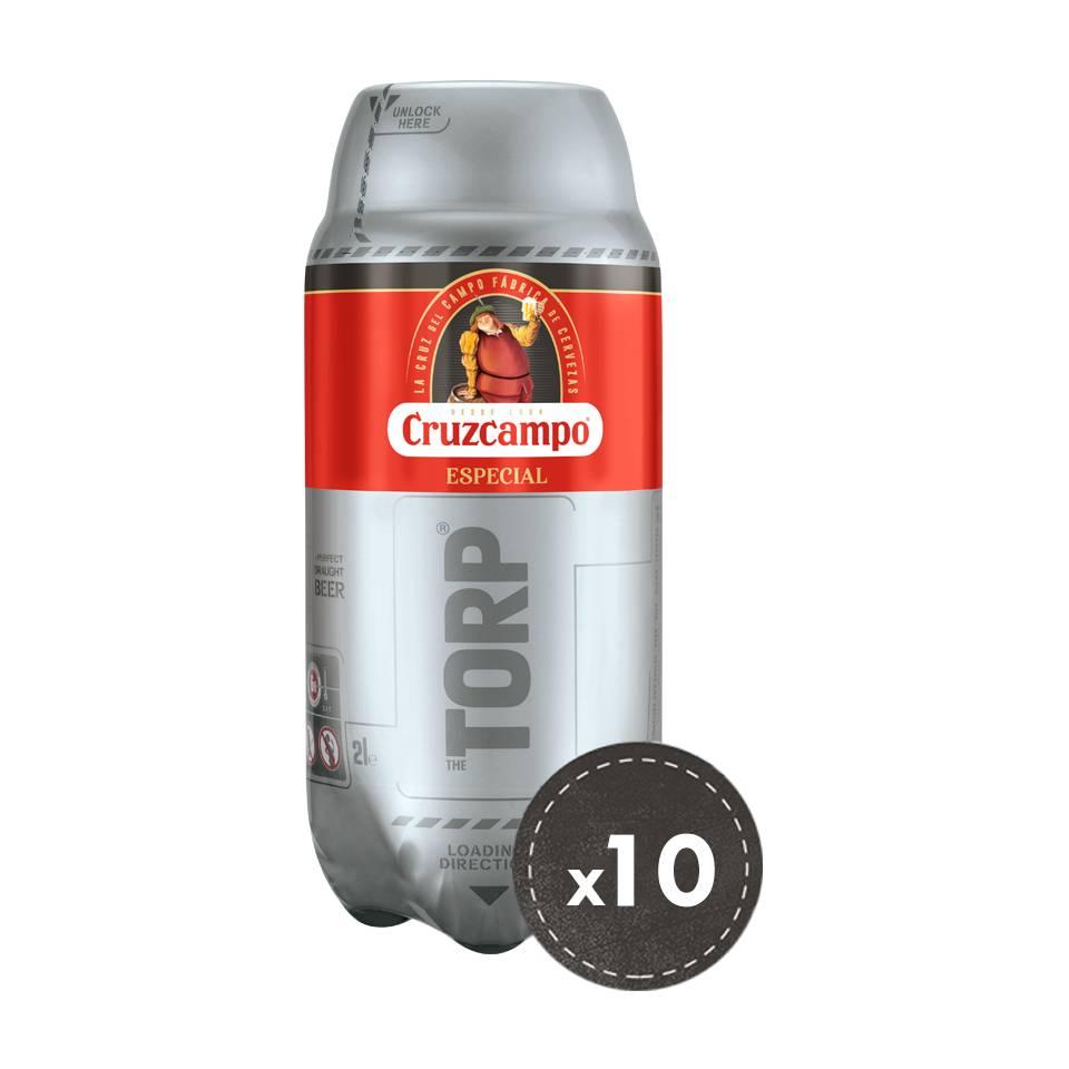 Cruzcampo Especial - Pack de 10 TORPs