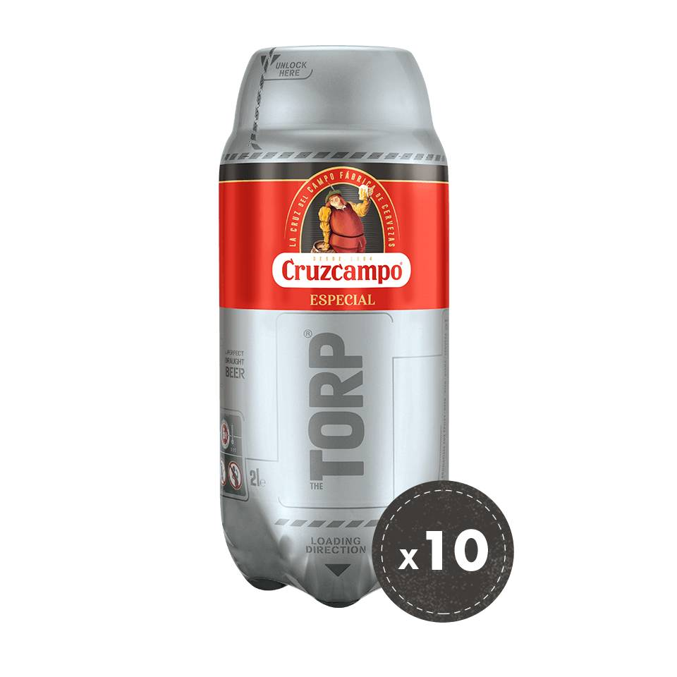 Cruzcampo Especial 10 for 8 bundle January