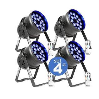 LED par set 4