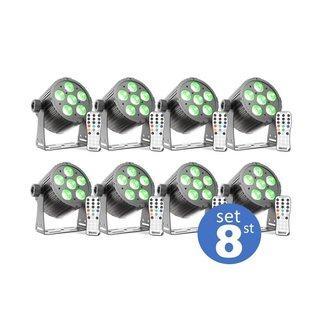 LED par mini set 8