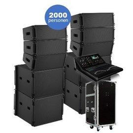 Bose Huur Bose Showmatch geluidset