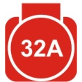 Huur verlengkabel 32A(400V) CEE Neopreenkabel