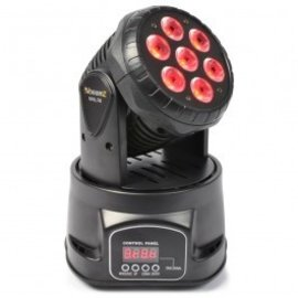 Beamz Huur Mini LED moving Head