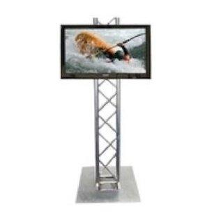 Huur LED / LCD scherm op truss standaard