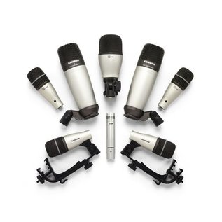 Huur Drumkit 8 microfoons