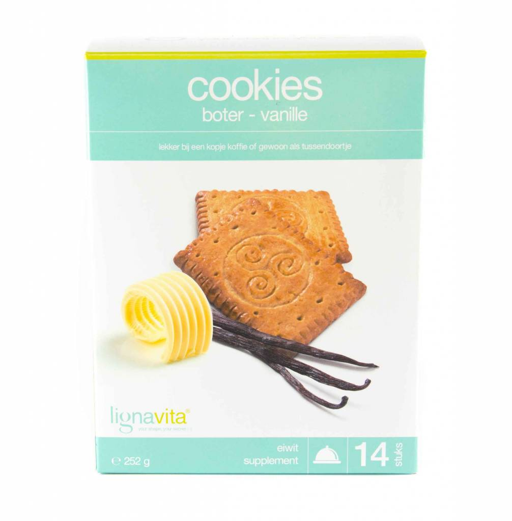 Lignavita Cookies Boter & Vanille
