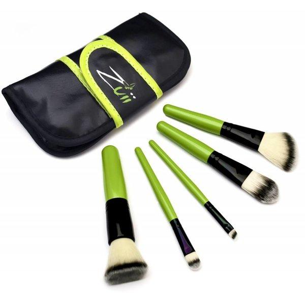 Make-up-Pinsel-Set mit Etui