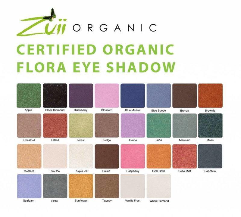 Zuii Organic Natural Eye Shadow Raisin Brown