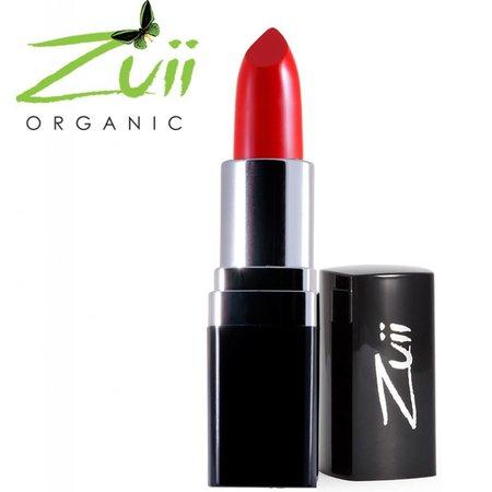 Zuii Organic Flora lipstick Coral Red
