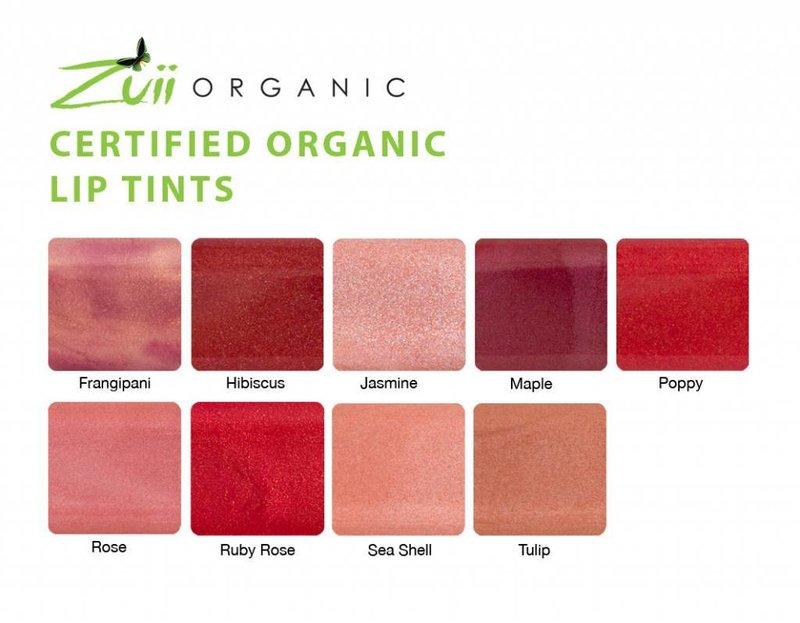 Zuii Organic Organic Lip Gloss Tint Hibiscus
