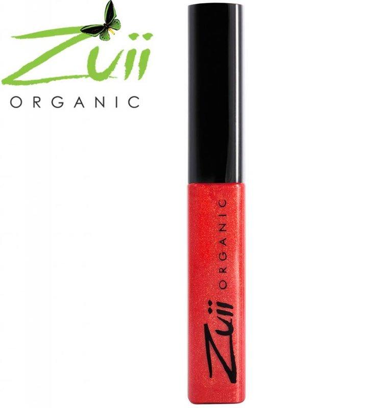 Zuii Organic Organic Lip Gloss Tint Poppy