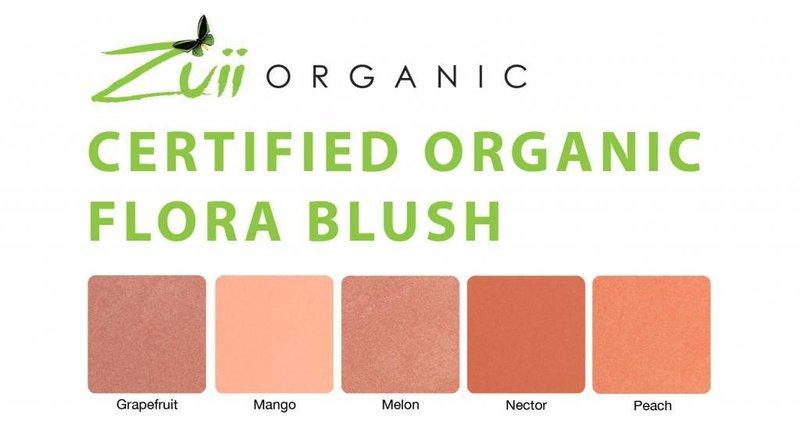 Zuii Organic natürliches, kompaktes Rouge Grapefruit