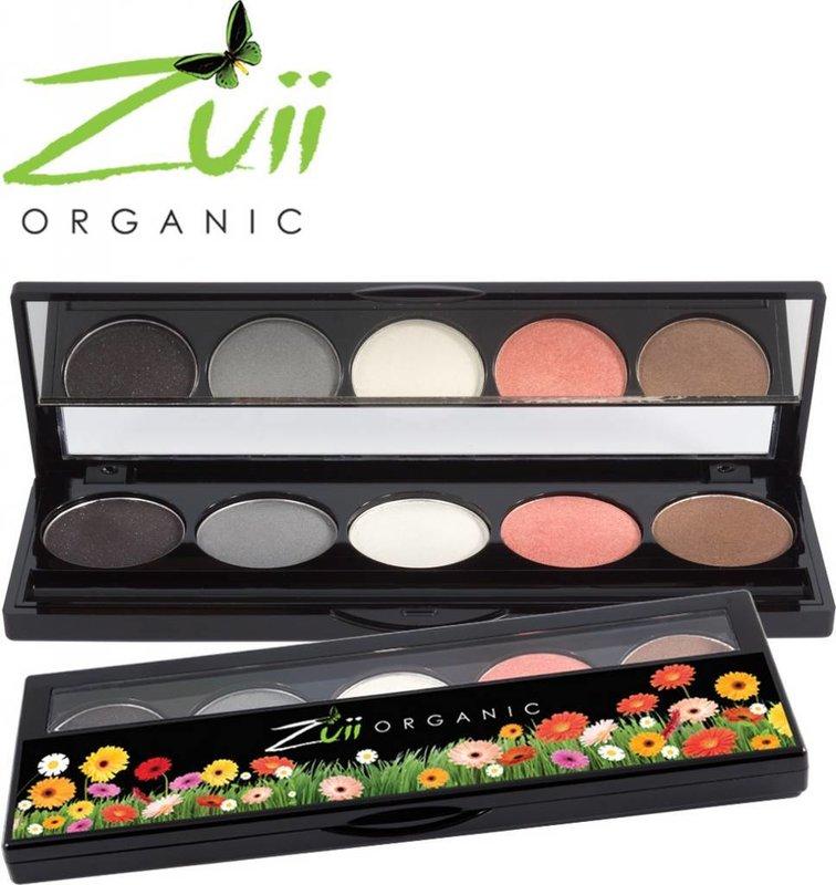 Zuii Organic Natural Eye Shadow Palette Glamour