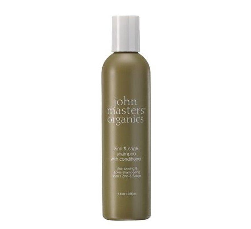 John Masters Organics Zink & Salbei Anti-RooS Shampoo & Conditioner 2in1