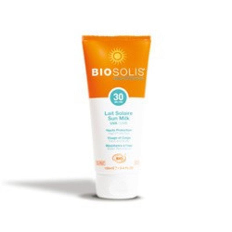 Biosolis Natürliche Sonnenschutzmilch F30