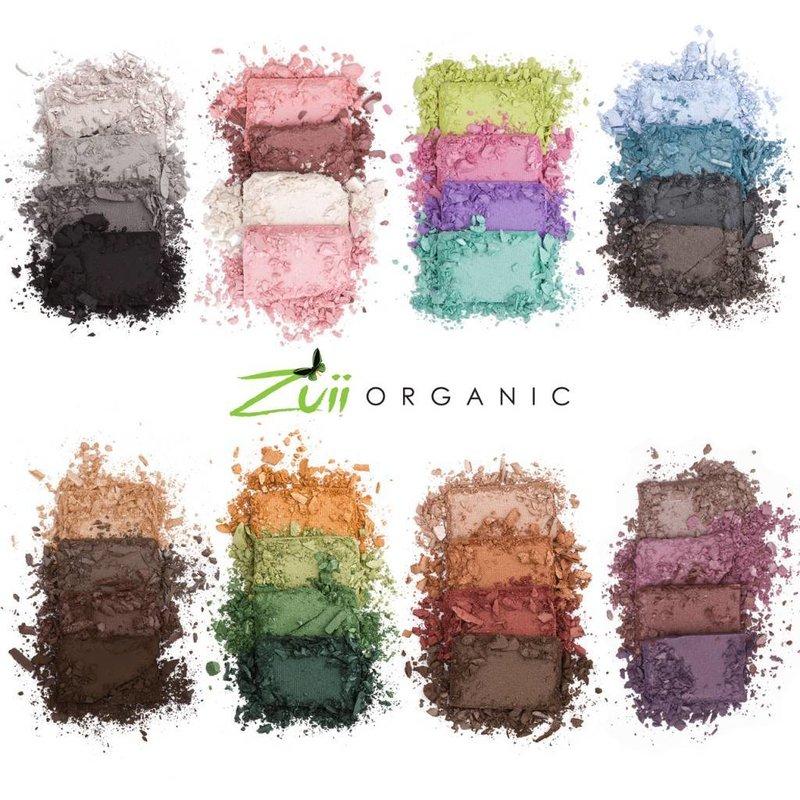 Zuii Organic Quad Lidschatten Palette Natural
