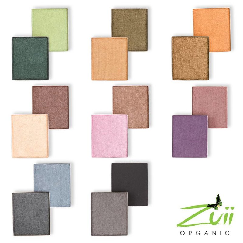 Zuii Organic Duo Eyeshadow Palette Denim