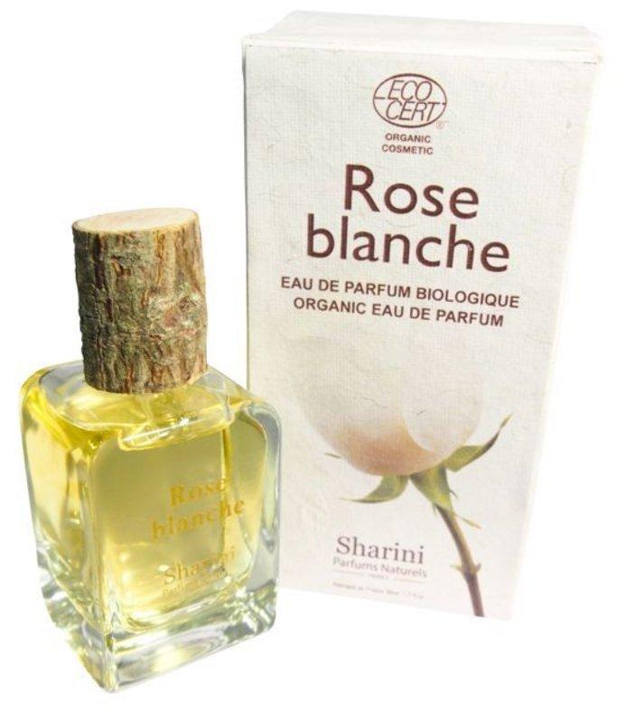 Sharini Natural Perfume Rose Blanche