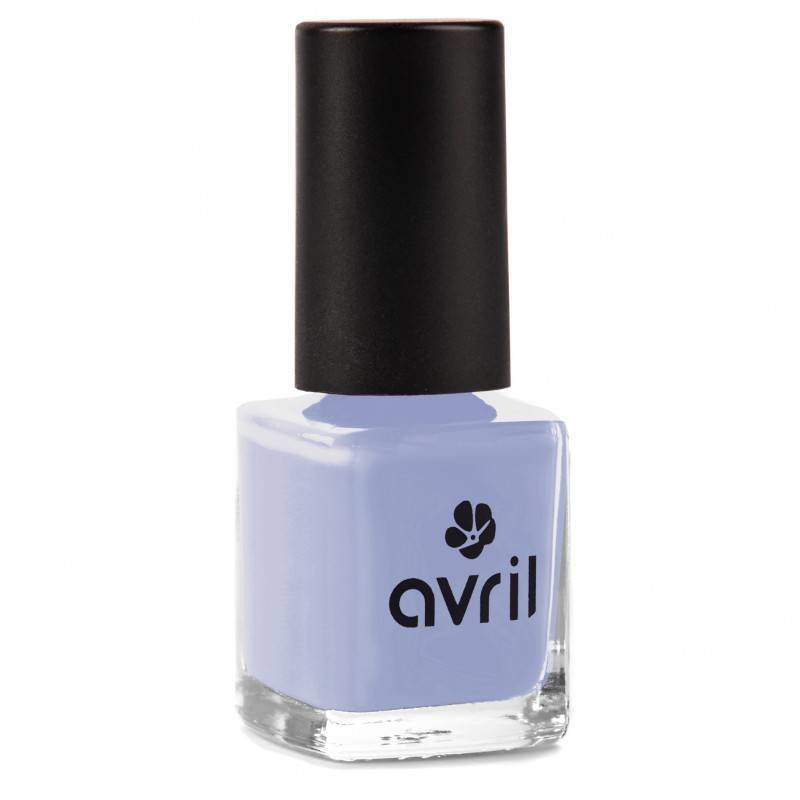 Avril Natural Nail Polish Bleu Layette