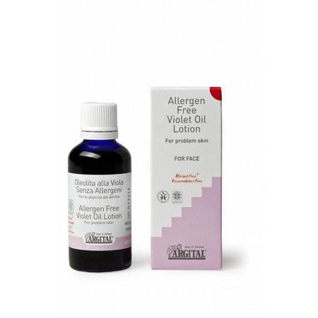 Argital Allergen Free Violet Oil Face Lotion