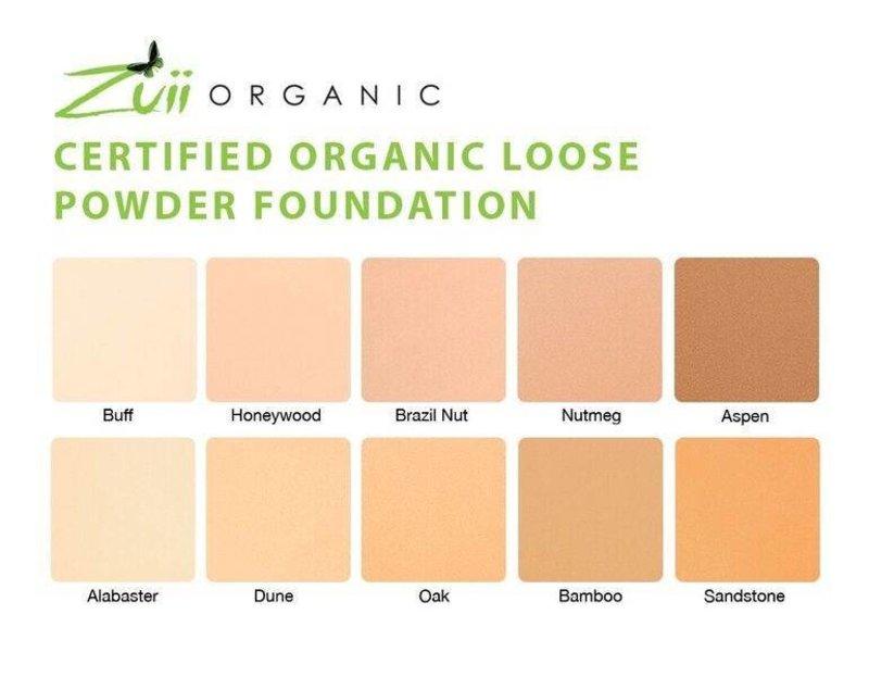 Zuii Organic Öko-Lose Pulver Foundation Nutmeg