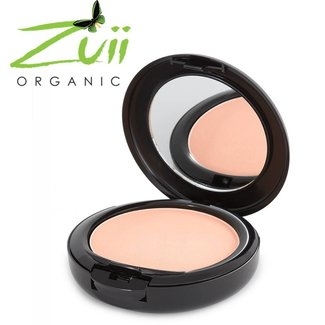 Zuii Organic Ultra gepresste Pulver Foundation Buff