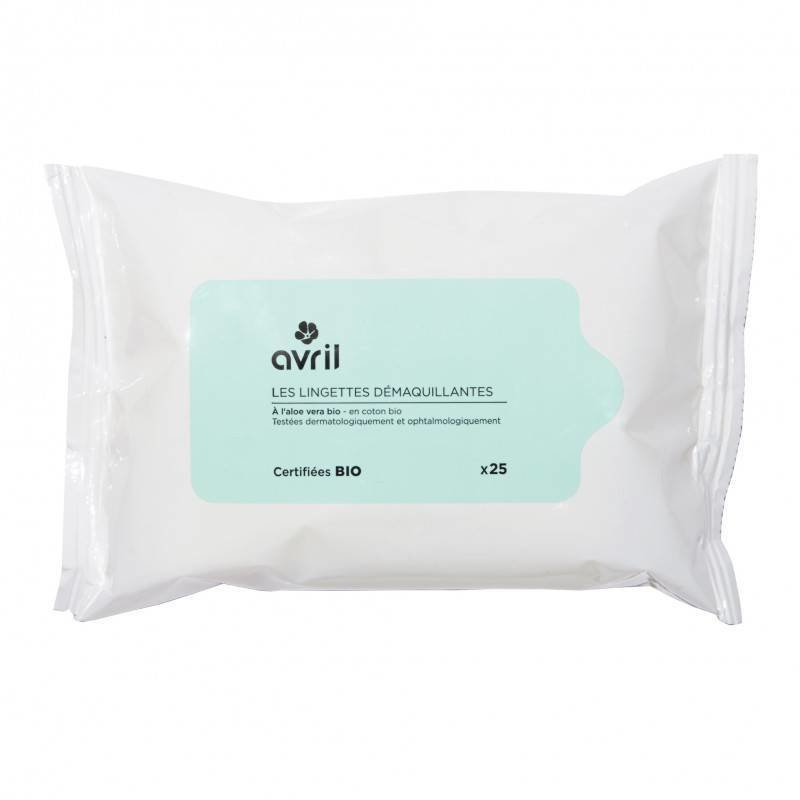 Avril Organic Face Cleansing Wipes