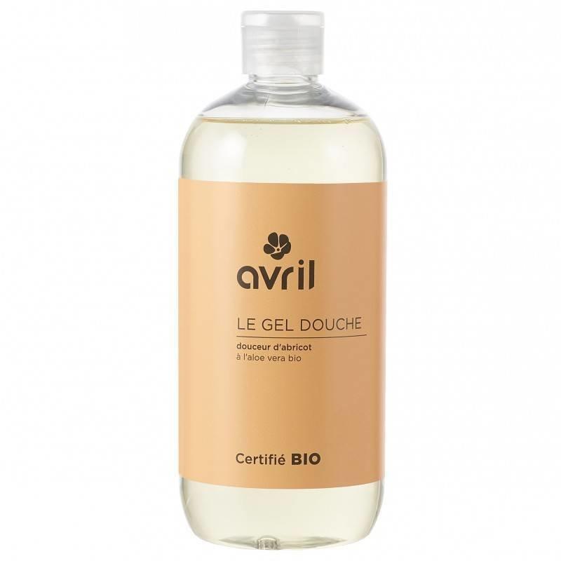 Avril Organic Shower Gel Abricot