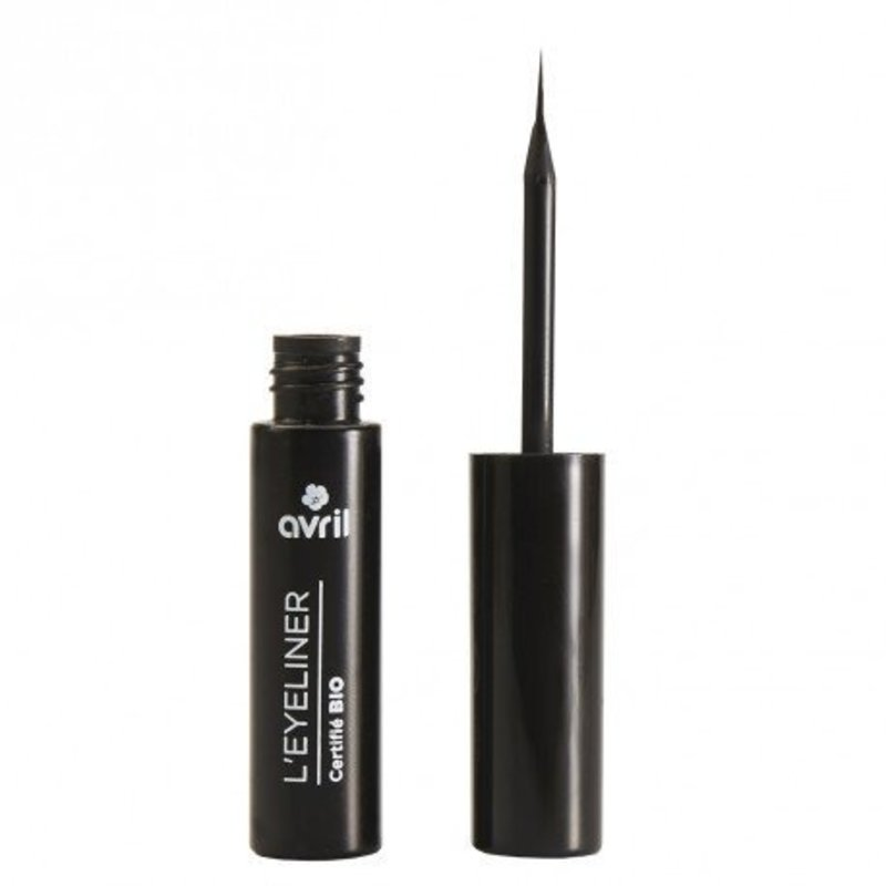 Avril Organic Black Liquid Eyeliner Noir