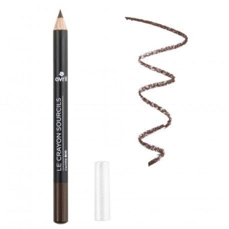 Avril Organic Eyebrow Pencil Brun