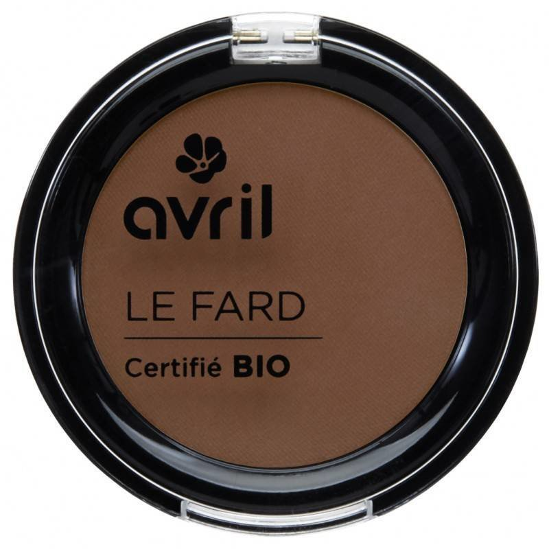 Avril Organic Eye Shadow Cannelle Mat