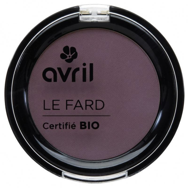 Avril Organic Eye Shadow Prune irisé