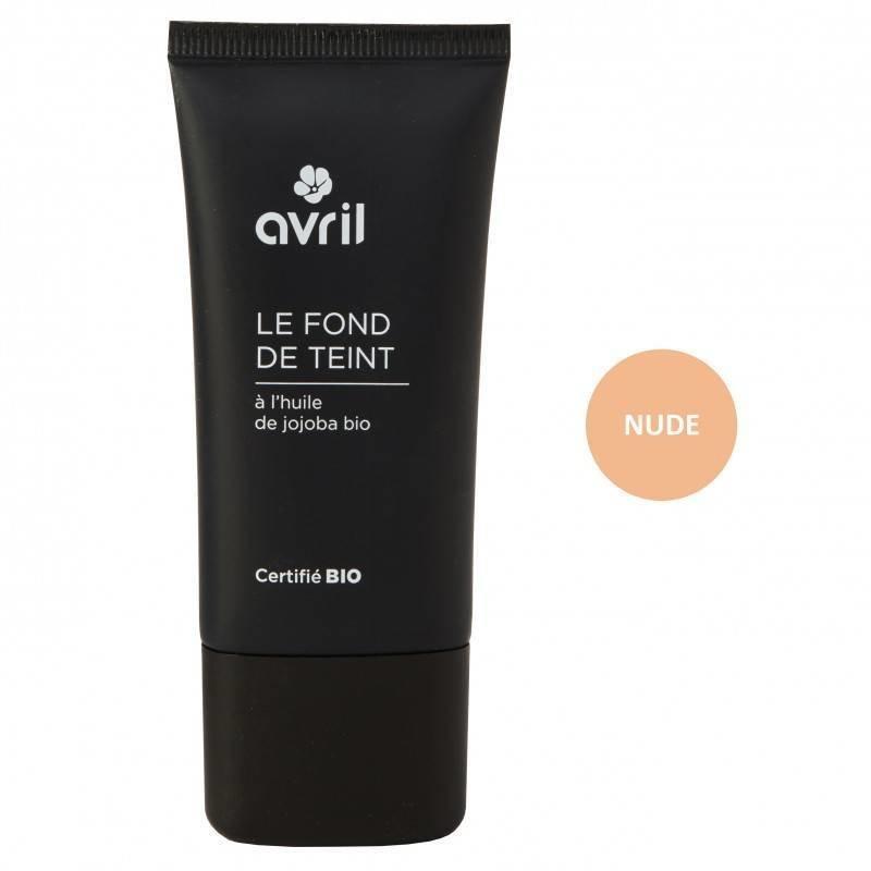Avril Organic Liquid Foundation Nude