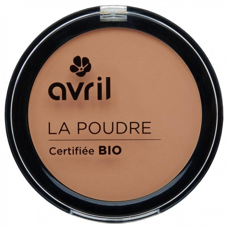 Avril Organic Compact Powder Foundation Abricot