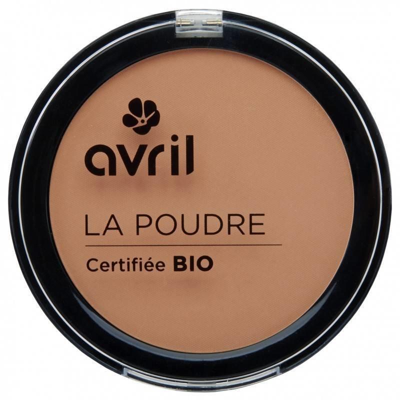 Avril Organische Kompakt-Pulver Foundation Abricot