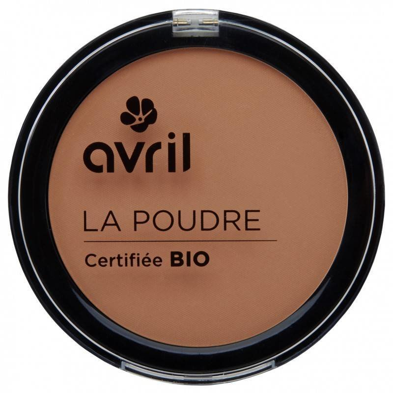 Avril Organic Compact Powder Foundation Cuivre