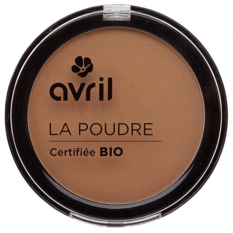 Avril Organic Compact Powder Bronzer Camel