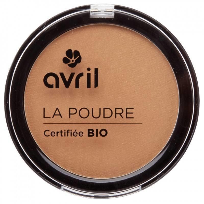 Avril Organische Kompakt-Pulver Bronzer Ambrée
