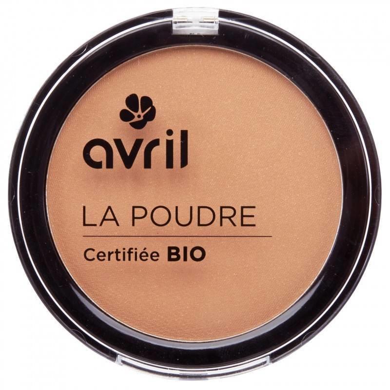 Avril Organic Compact Powder Bronzer Caramel Doré