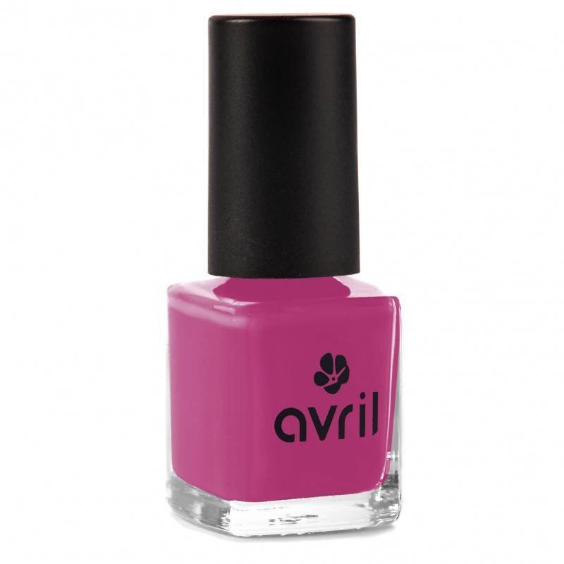 Avril Natural Nail Polish Pourpre