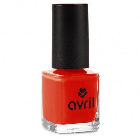 Avril Nail Polish Coquelicot