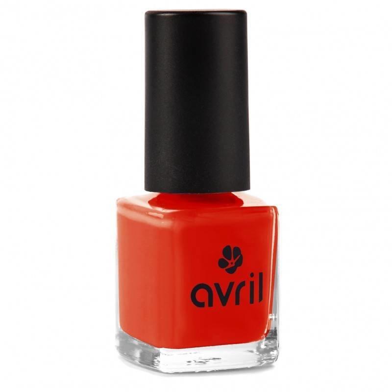 Avril Natural Nail Polish Coquelicot