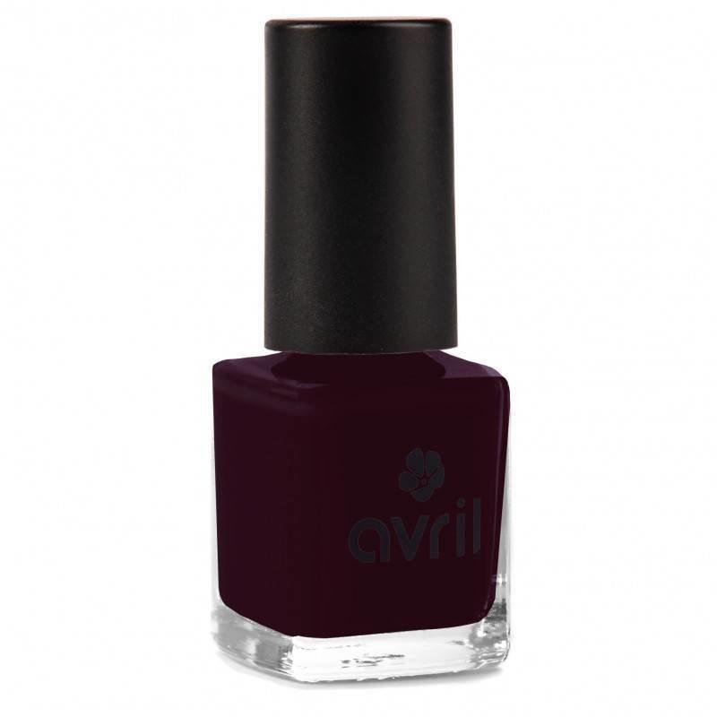 Avril Natural Nail Polish Prune