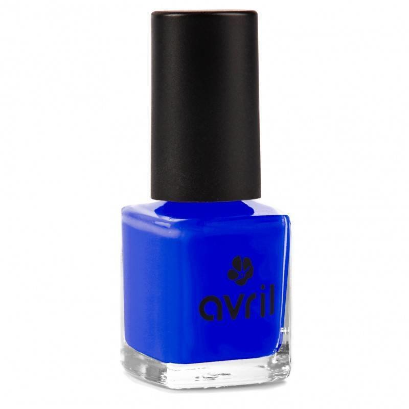 Avril Naturnagellack Bleu de France