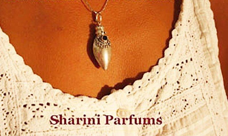 Sharini Silver Perfume Pendant