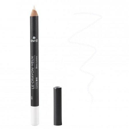 Avril Eyeliner Pencil Blanc Lunaire