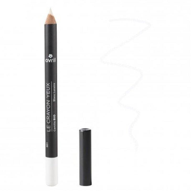 Avril Natural Eyeliner Pencil Blanc Lunaire