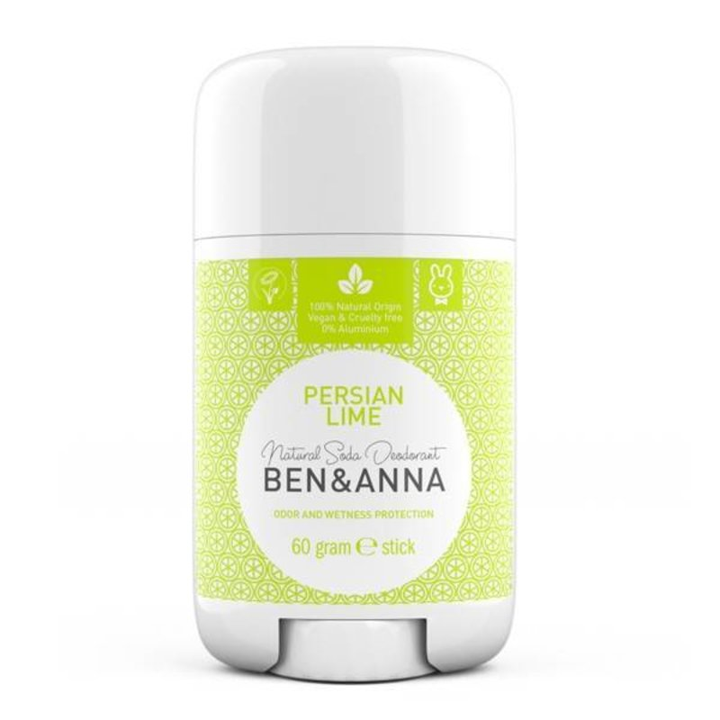 Ben & Anna Natural Deodorant Stick Persian Lime