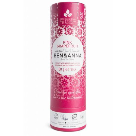 Ben & Anna Eco Deo Stick Pink Grapefruit